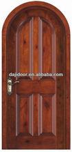 Nice 4 Panels Solid Wood Interior Doors Design For Bedroom DJ-S143