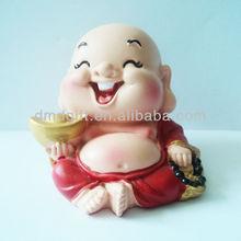Festival polyresin figurine toy decoration(Maitreya)