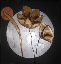 carton fair flower canvas painting art (24553)