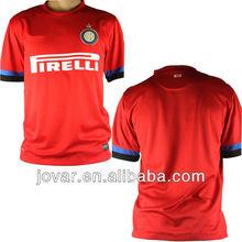 Jovar Inter milan away club soccer set Jersey
