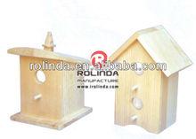 wooden craft for bird house