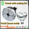 35W OSRAM LED E26/27 2500lm LED PAR30