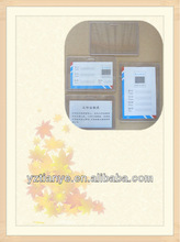 Stationery for A4 ID card case holder