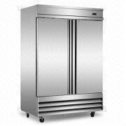 Stainless Steel Reach-in Refrigerator, Conforms to UL/NSF and Energy Star Pending