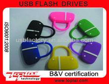 bulk oem promotional 2GB 4GB 8GB PVC bag usb flash memory drive for laptop