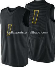 Black Youth 2012-2013 Basketball Jersey