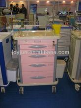 Hospital medication hospital nursing trolley cart with CE/ISO9001/ISO13485