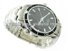 metal band 2012 latest mens fashion wrist watch automatic movement