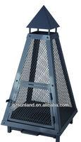 Pyramid Steel Chiminea