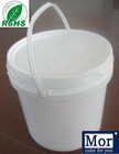 5L plastic packaging bucket/pail/barrel with easy pull cover