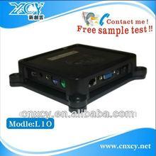 easy installation embedded box pc XCY L-10 min itx case server