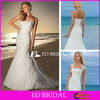 Trumpet Mermaid Slight Curve Dropped Waist Appliqued Organza Wedding Dress with Lace Bolero Jacket