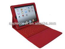 Bluetooth Keyboard Leather Case for ipad 3,mfor ipad 2,for ipad 4