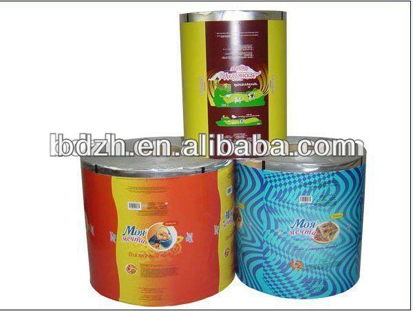 Margarine emballage Film ( LDPE + AL + papier ), Fda certificat