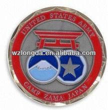 2012 hot sale metal customized commemorative coins