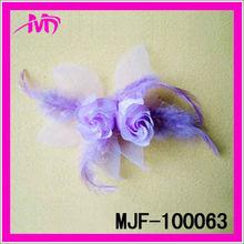 Flores de la tela de venta al por mayor todos los tipos de flor para el sombrero