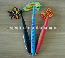 soft pvc cartoon magnet ballpen