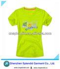 2012 wholesale cheap women tshirt,Comfortable cotton t-shirts online shopping