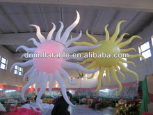 party supply/stage decoration/concert inflatable sun