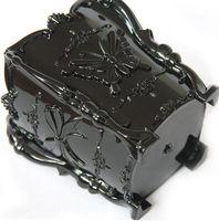 Butterfly Pattern Plastic Cosmetic case