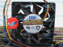 Honest AVC 8025 8CM Big air fan 12V 0.54A DBTA0825B2U PWM Intelligent control speed