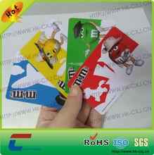 Full Color Printed PVC Plastic Card Sticker
