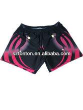 2012 custom lycra polyester short