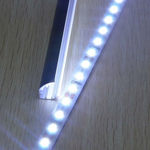 DC12V 50cm/pc 36leds/M V/U Type Slot Aluminum Alloy Warm/Cool White Led 5630 riginal Bar Lights