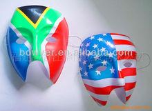 national flag designs PVC face mask