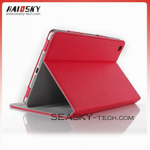 Snap-on leather case for ipad mini