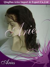 Magic beauty brazilian hair lace front wig