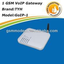 1 port goip gateway /dual sim sip voip phone internationaling calls device