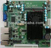 New ATOM D425/525 ITX Motherboard , DC 12V ,6 Com ports