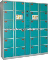 Electronic valuables locker