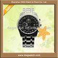 Marca de topo de aço inoxidável relógios homens movimento automático dwg-s0025