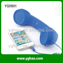 2012 New Cheap retro phone/corded phone receiver for iphone