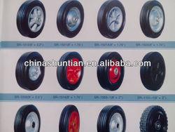 heavy duty solid wheel 8 inch