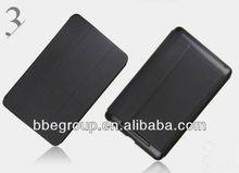 Super slim leather case for ipad mini black