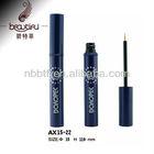Aluminum dark blue empty eyeliner tube