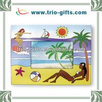 2012 Sexy girl beach leisure holiday photo frame
