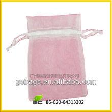 fancy popular organza bags for sugar