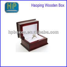 wall street oversized wood engagement ring box