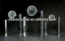 Fashion design crystal award crystal gift (G-0011)