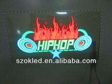 45x25cm hip-pop fire equalizer Car Sticker