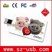 Credit USB Card Flash Drive with free logo