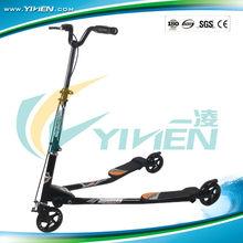 2012 new hot sale swing scooter Handbrake + Rear brake