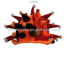 Horn hat clown hat carnival hat
