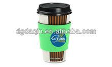 Nice Silkscreen Printing,Neoprene coffee sleeve