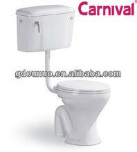 Ceramic washdown two piece water closet 2206