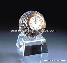 Hot selling Fashion crystal clock home decoration (G-0187)